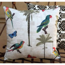 Cushion Cover - Hearts Of Palm Peninsula Indoor Outdoor Fabric Fabric Traders