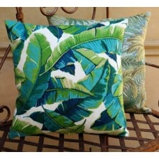 Cushion Cover - Resort Palm Indoor Outdoor Fabric Fabric Traders