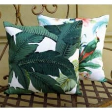 Cushion Cover - Swaying Palms Indoor Outdoor Fabric Fabric Traders