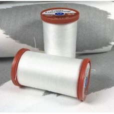 Thread EXTRA Strong Polyester 182m White by Coats and Clark Fabric Traders