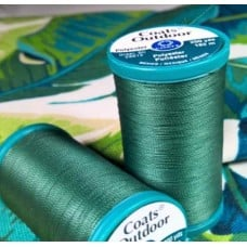Thread Outdoor Polyester 182m Dark Green by Coats and Clark Fabric Traders