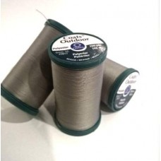Thread Outdoor Polyester 182m Grey by Coats and Clark Fabric Traders