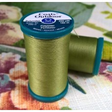 Thread Outdoor Polyester 182m Lime by Coats and Clark Fabric Traders