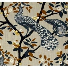 REMNANT - Plume Redux Midnight Luxe Home Decor Fabric Fabric Traders