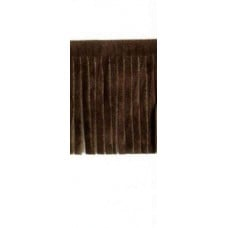 Fringing Faux Suede Brown 5cm Fabric Traders