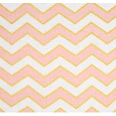 Metallic Glitz Chevron in Pearlized Confection by Michael Miller Cotton Fabric Fabric Traders