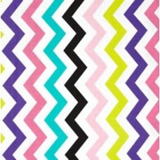 Shi-Shi Chevron Orchid Cotton Fabric by Michael Miller Fabric Traders
