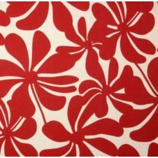 A Jumbo Petals in Red & White Outdoor Fabric Fabric Traders