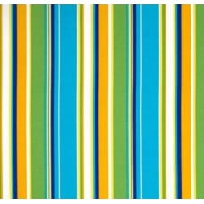 Covert Blue Bell Striped Indoor Outdoor Fabric Fabric Traders
