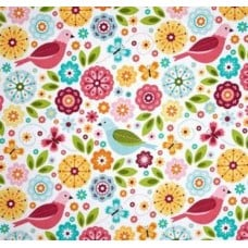 Summer Song Cotton Fabric by Riley Blake Fabric Traders