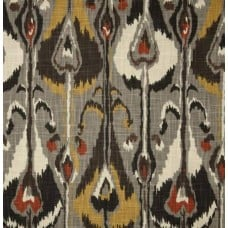 Ikat Bands Slub Greystone Home Decor Fabric by Robert Allen @ Home Fabric Traders