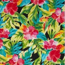 Splash Tropical Leaves Cotton Fabric by Robert Kaufman Fabric Traders