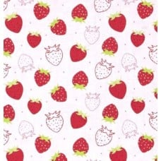 Scented Fabric Strawberry Cotton Fabric Fabric Traders