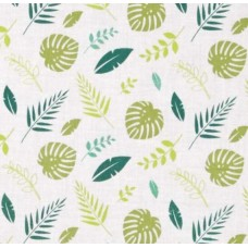 Scented Fabric Tropical Leaf Cotton Fabric Fabric Traders