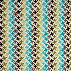 Highland Teal Terrasol Indoor Outdoor Fabric Fabric Traders