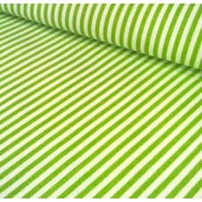 Ticking Thin Stripe Cotton Fabric Chartreuse White Ticking Fabric Traders