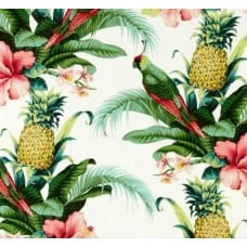 REMNANT - Beach Bounty Lush Green Outdoor Fabric by Tommy Bahama Fabric Traders