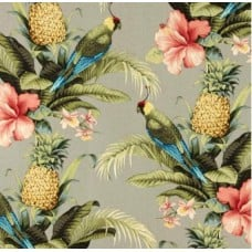 Beach Bounty Tangelo Indoor Outdoor Fabric by Tommy Bahama Fabric Traders