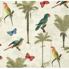 REMNANT - Hearts of Palm Peninsula Outdoor Fabric by Tommy Bahama Fabric Traders