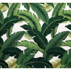 LOT PIECE - Swaying Palms Aloe Outdoor Fabric by Tommy Bahama Fabric Traders