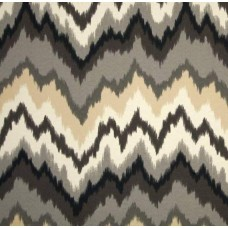 Borderline Ebony Outdoor Fabric Ebony by Waverly Fabric Traders