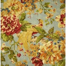 Floral Engagement Twill Woodland Home Decor Cotton Fabric - REMNANT  Fabric Traders