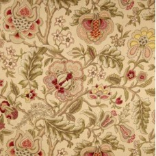 Imperial Dress Gold Home Decor Cotton Fabric by Waverly Fabric Traders