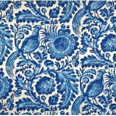 REMNANT - Tuckers Daughter Resist Porcelain Fabric Fabric Traders