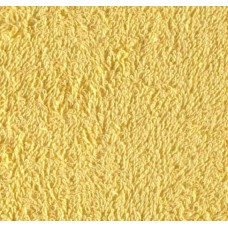 REMNANT - Terry Towelling Lemon 100 Cotton High Quality Fabric Fabric Traders