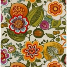 Garden Party Almond Outdoor Fabric Fabric Traders