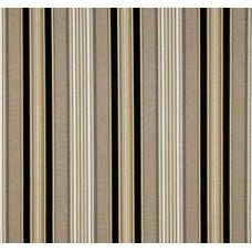 REMNANT - Down that Laneway Stripe Ebony Outdoor Fabric Sun n Shade by Waverly Fabric Traders