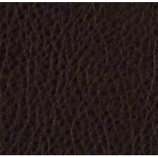 REMNANT - Faux Leather Soft Upholstery Fabric in Cappuccino Fabric Traders