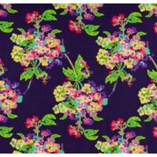 Love Water Bouquet Midnight Cotton Fabric by Amy Butler Fabric Traders