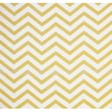 Metallic Glitz Chevron in Gold & White Cotton Fabric by Michael Miller Fabric Traders