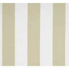 Soft Tan & White Striped Outdoor Fabric Fabric Traders