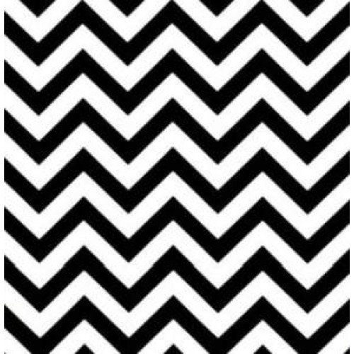 Chevron zig zag indoor outdoor fabric black and white fabric traders