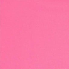 REMNANT - Laminated Waterproof Fabric in Strawberry Pink Fabric Traders