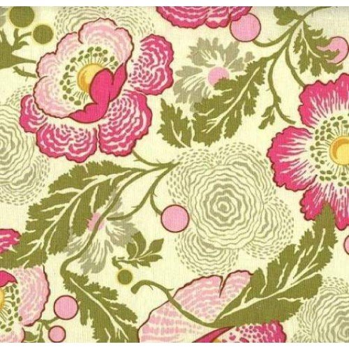 05f25bcdfa07e -34% REMNANT - A Midwest Modern Fresh Poppies Fuchsia by Amy Butler Fabric  Traders