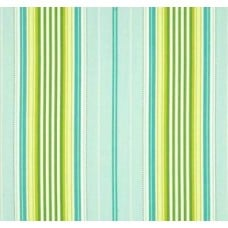 Garden District Stripe Cotton Sateen Fabric by Heather Bailey Fabric Traders
