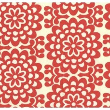 Lotus Wall Flowers Cotton Fabric by Amy Butler Fabric Traders