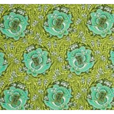Violette Take Flight in Jade Cotton Fabric by Amy Butler Fabric Traders