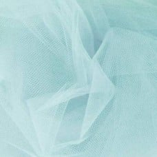 Brides and Ballet Nylon Tulle Fabric in Aqua Extra Wide at 274cm