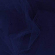 Brides and Ballet Nylon Tulle Fabric in Navy