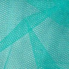 Nylon Mesh Netting Fabric in Teal Fabric Traders