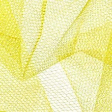 Nylon Mesh Netting Fabric in Yellow Fabric Traders
