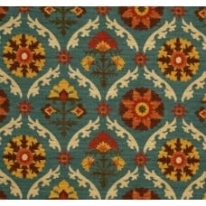 Mayan Medallions Adobe by Waverly Fabric Traders