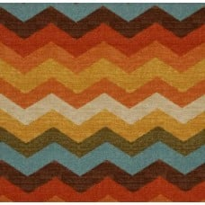 Panama Wave Chevron Adobe Home Decor Cotton Fabric by Waverly Fabric Traders