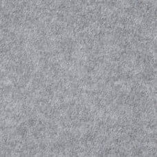 Polar Fleece Fabric in Solid Midtoned Grey Fabric Traders
