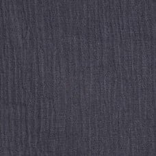 Lightweight Cotton Gauze Muslin Fabric in Dark Grey Fabric Traders