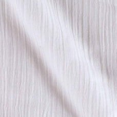 Lightweight Cotton Gauze Muslin Fabric in White Fabric Traders